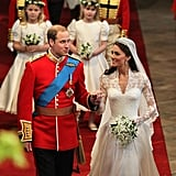 Pictures of Prince William and Kate Middleton's Wedding