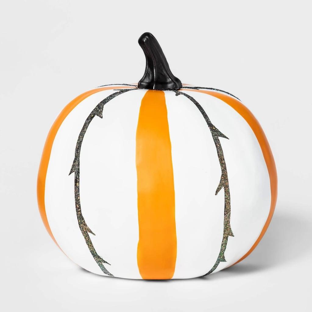 Painted Vine Halloween Pumpkin