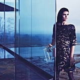 Hilary Rhoda smoulders Hugo Boss Black's Fall 2012 ads.