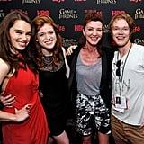 Is Emilia Clarke Frieneds With Rose Leslie?