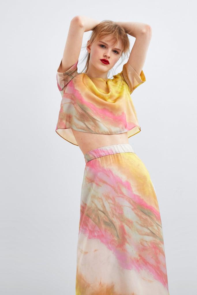 dbbc264ecdf1 Zara Tie-Dye Set | How to Wear Tie-Dye | POPSUGAR Fashion Photo 17