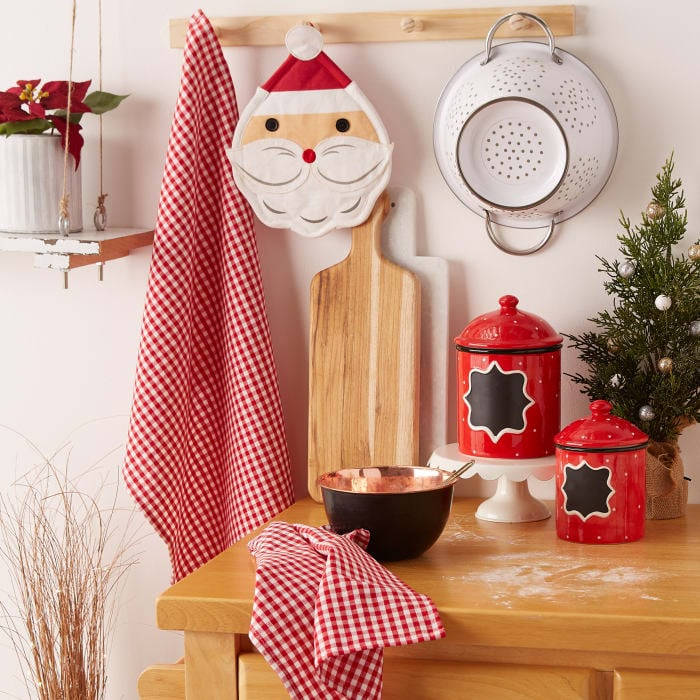 Santa Potholder Gift Set
