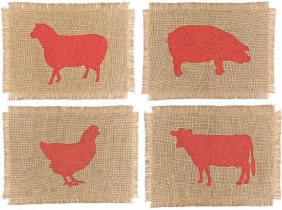 Nice and New: Simrin Farmyard Placemats