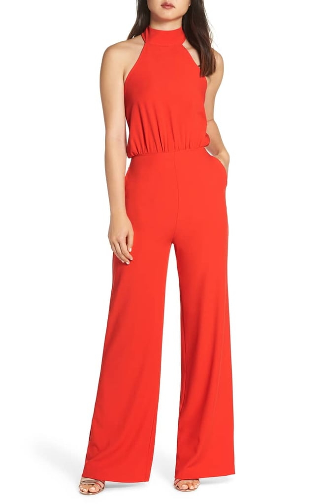 62fc2b0ae11bc Lulus Moment For Life Halter Jumpsuit