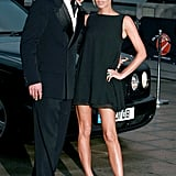 Victoria in a breezy tunic dress at the Sport Industry Awards in 2007.