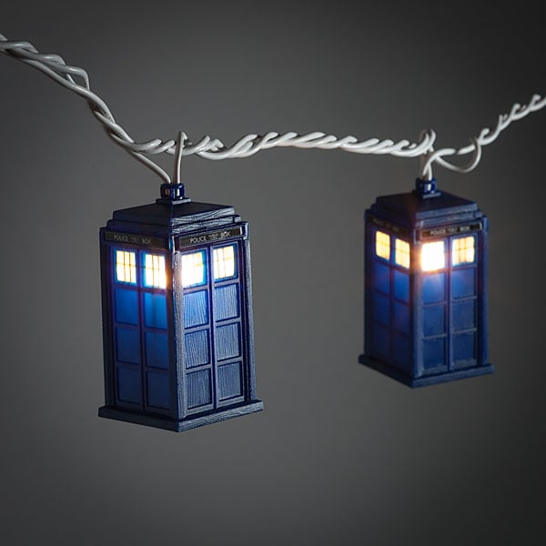 Doctor Who TARDIS Fairy String Lights