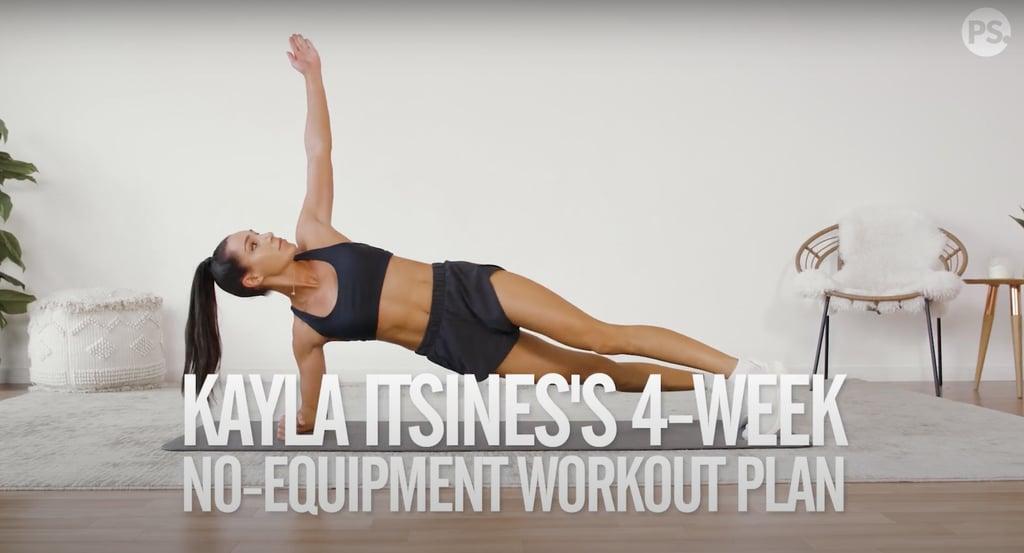Kayla Itsines's 4-Week Bodyweight Workout Plan: Weeks 2 & 4