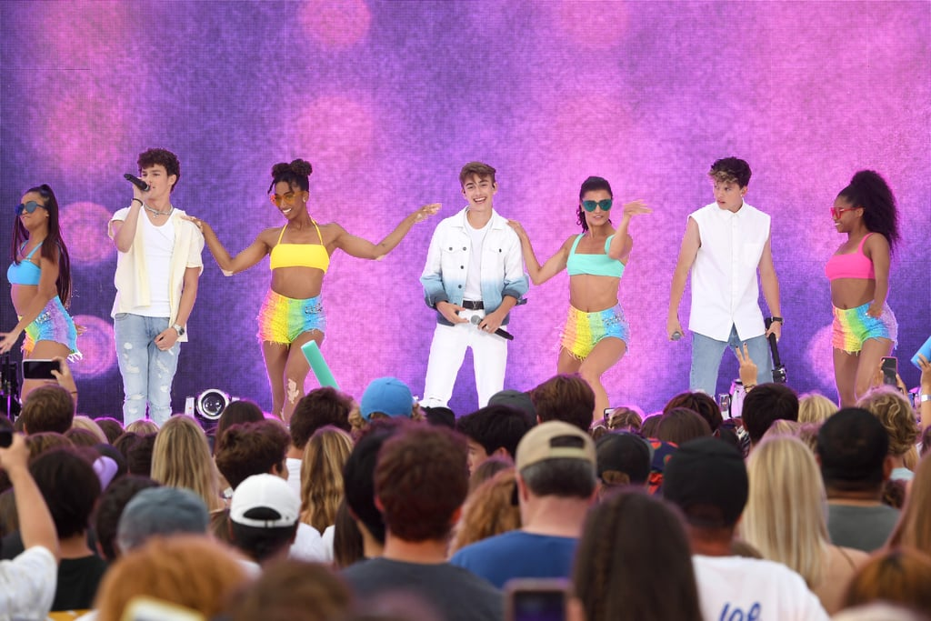 Hayden Summerall, Johnny Orlando and Jacob Sartorius at the Teen Choice Awards 2019