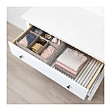 Beige Box With Compartments