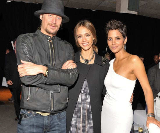 Slide Picture of Halle Berry, Jessica Alba, and Kid Rock at the CNN Heroes Event