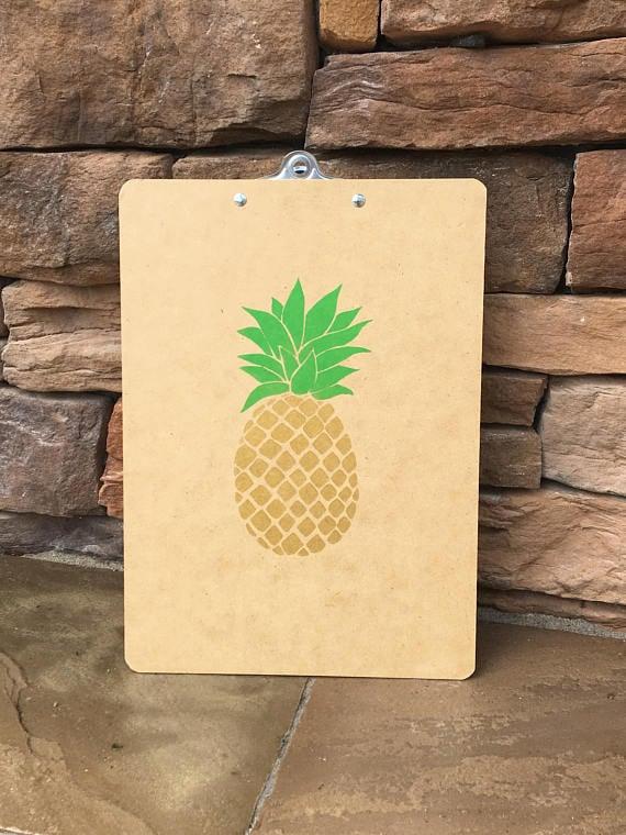 Pineapple Clipboard