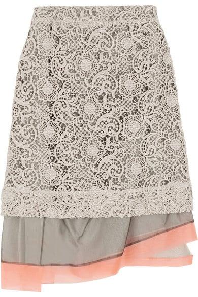 Michael van der Ham Lace Skirt