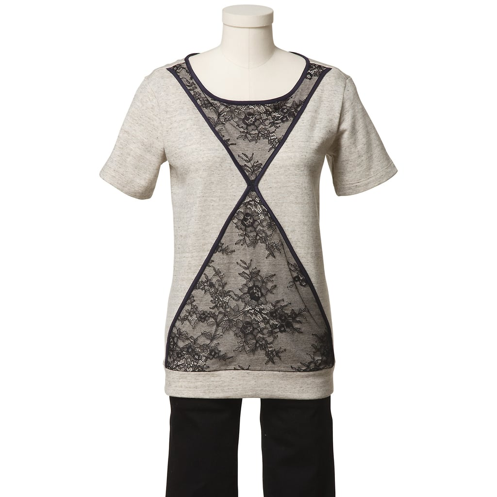 As part of the eBay Holiday Collective, the Tibi Quixote lace short-sleeve sweatshirt ($85) has been high on our shopping list for a while now, but now its lacy finish is ours for the snagging. It can be yours, too. Wear it with a waxed/coated pair of jeans and patent-leather loafers for a dressy-meets-low-key look.