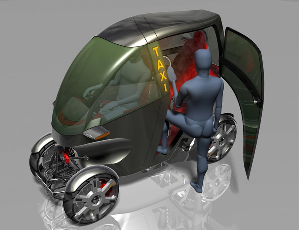 Naro Concept Vehicle, AKA 'The Easy Rider'