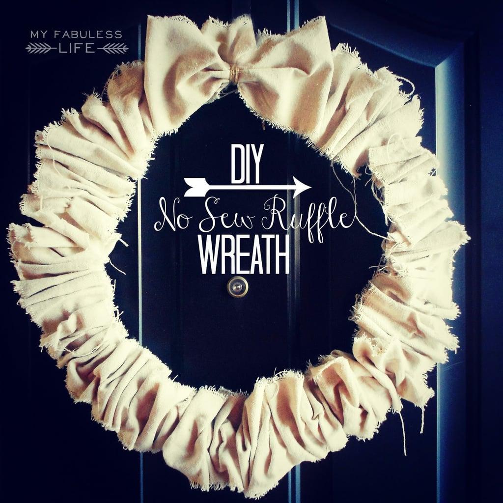 A Ruffled Wreath