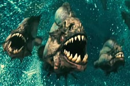 UK Poll and Movie Trailer for Piranha 3D Starring Jessica Szohr, Christopher Lloyd — Will You See it or Skip it?