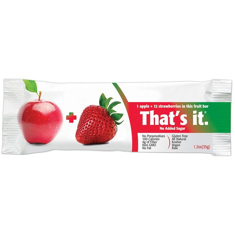 That's it.  Apple + Strawberries