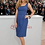 Petra Nemcova was a vision in blue at the Cannes Film Festival.