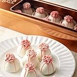 Austin Cake Ball Pink Roses Cake Balls ($40)