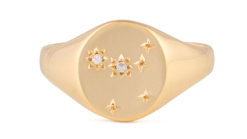 Mejuri Zodiac Ring