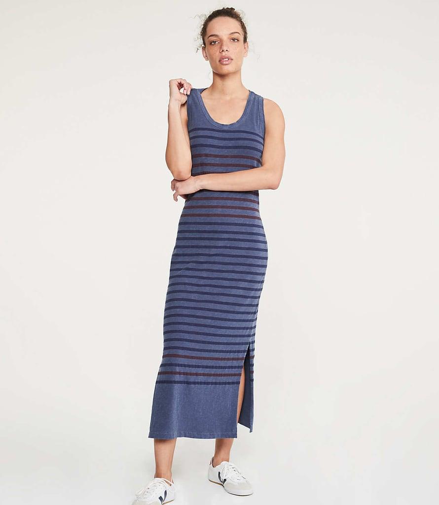 b7ebb2c767741 Sundry Striped Racerback Slit Dress   Best T-Shirt Dresses ...