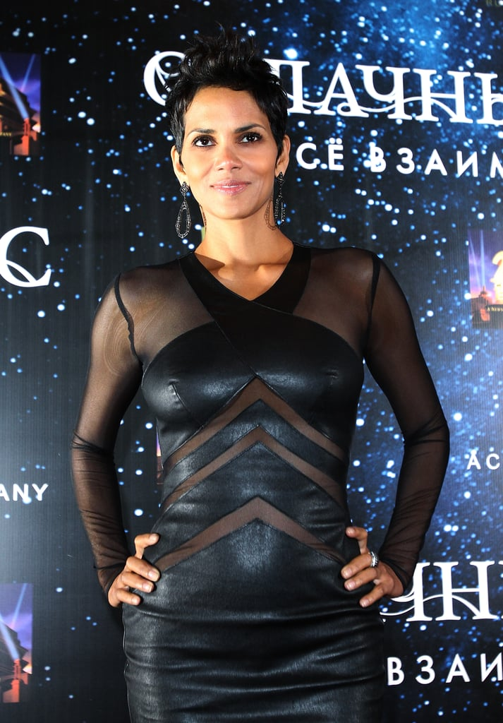Halle Berry struck a pose.