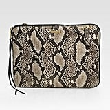Rebecca Minkoff Faux Snake-Print Leather Laptop Case ($125)