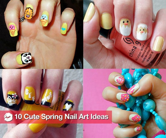 Cute Nail Art Ideas For Spring