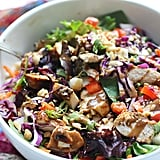 Chopped Spicy Chicken and Veggie Salad