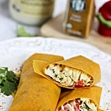 Gluten-Free Turmeric Chicken Salad Wraps