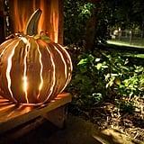 Steel Pumpkin Luminary