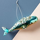 Jeweled Whale Ornament