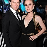 True Blood couple Anna Paquin and Stephen Moyer at the Emmy's Governor's Ball.