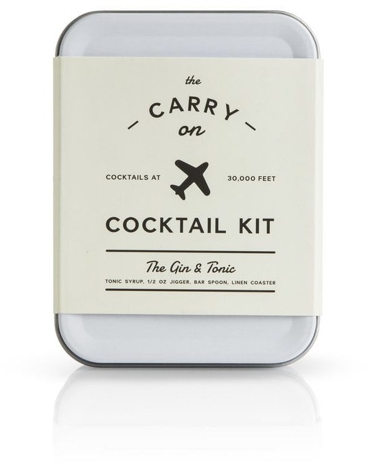 Oliver Bonas Gin & Tonic Carry on Cocktail Kit