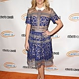 Reese Witherspoon has the preppy version of the Self-Portrait dress.