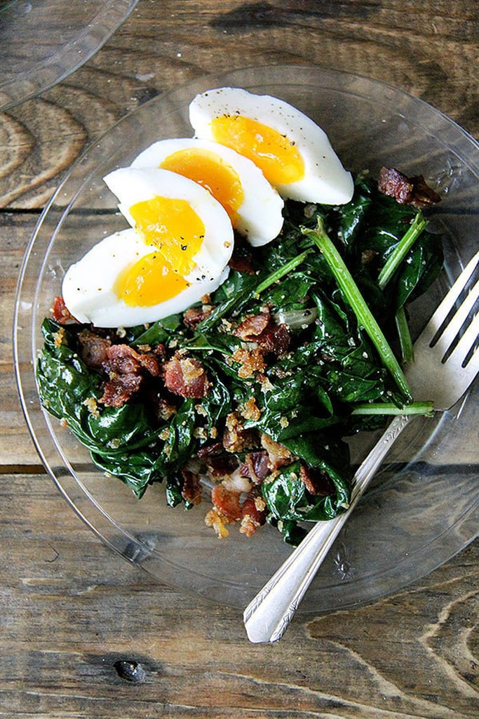 Alice Water's Spinach Salad