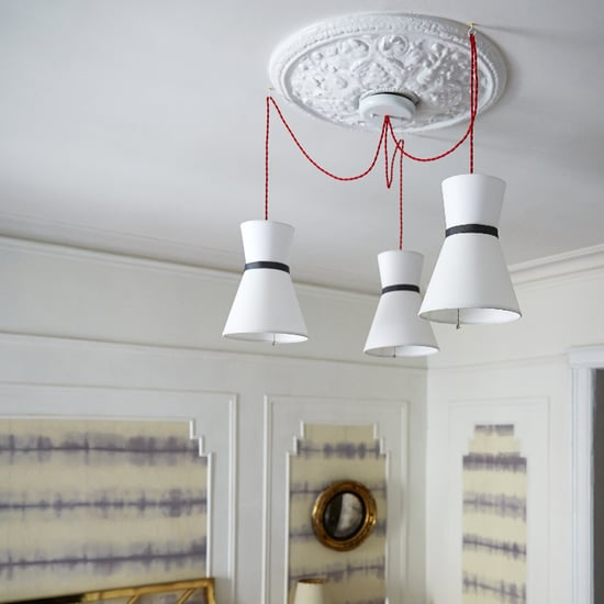 How to Turn 2 Lampshades Into a Chic Modern Pendant