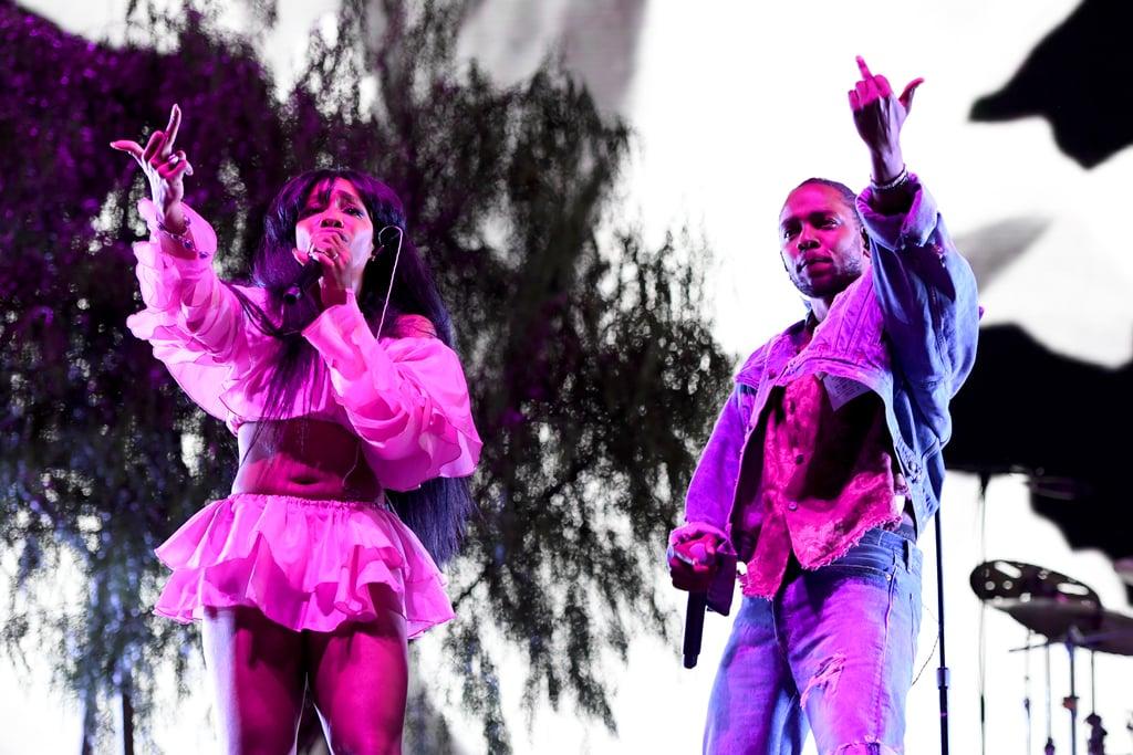 SZA and Kendrick Lamar