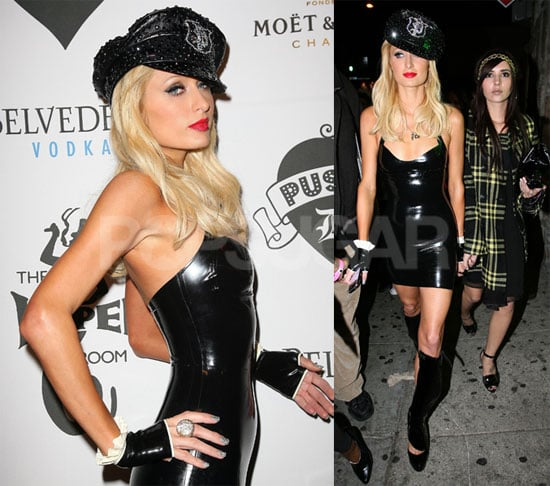 Photos of Paris Hilton at the Pussycat Dolls VMA Afterparty