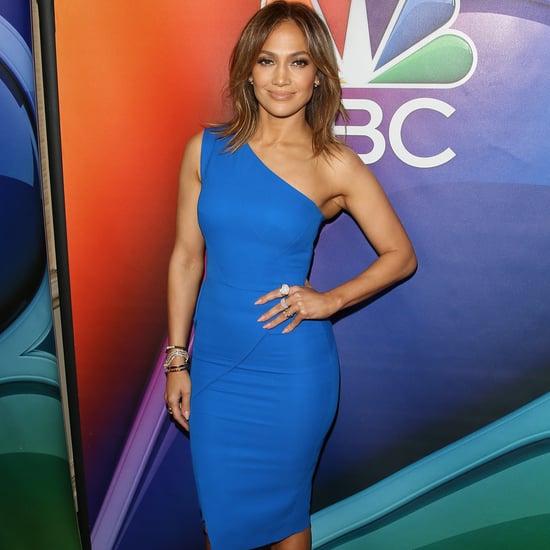 Jennifer Lopez Wears a Victoria Beckham Dress