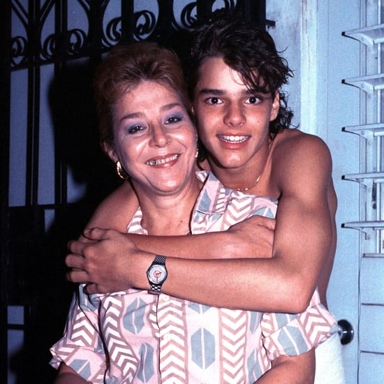 Latino Celebrities and Their Moms Photos
