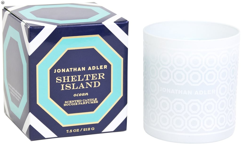 With cool masculine undertones of fir balm, sage, and sand, the Shelter Island candle ($28) will make your home smell like a Northeastern beach escape.