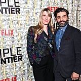Pictured: Elvira Lind and Oscar Isaac