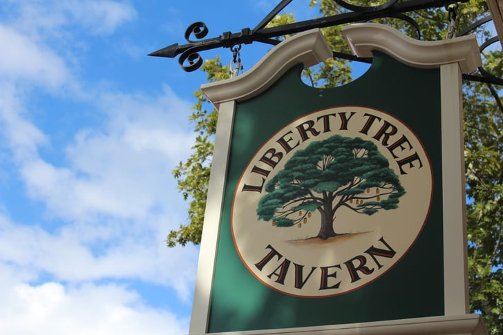 The Liberty Oak In Liberty Square Is The Parent To Over