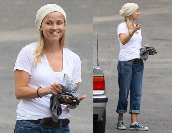 Photos of Reese Witherspoon After Softball Practice in LA