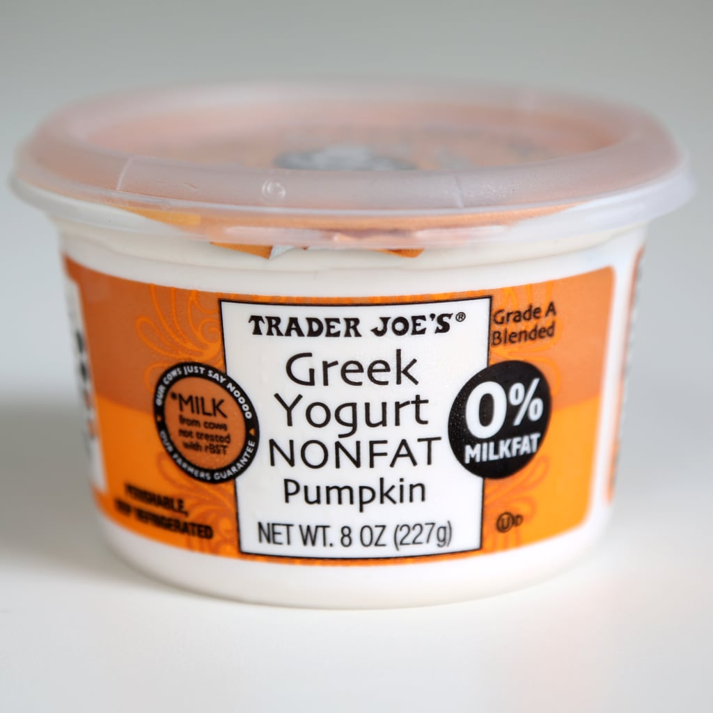 Trader Joe's Nonfat Pumpkin Greek Yogurt