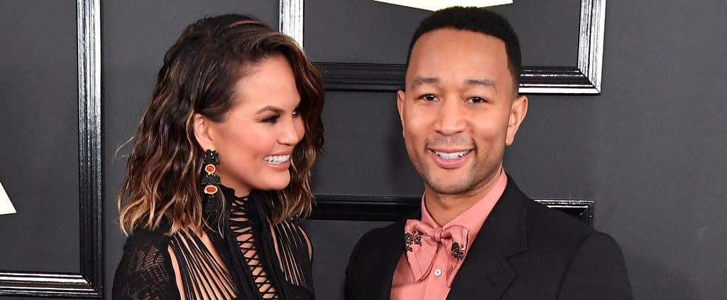 The Grammys Red Carpet Better Watch Out, Because John Legend and Chrissy Teigen Are on Fire