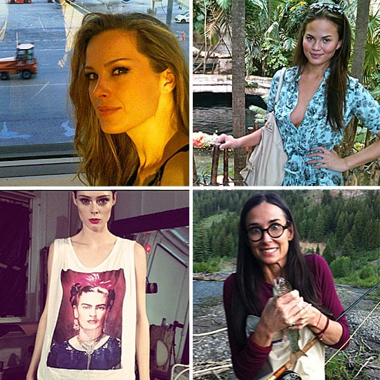 Twitter Pictures of Celebrities and Models 2011-07-26 01:00:00