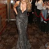 Sofia Vergara bared her cleavage.