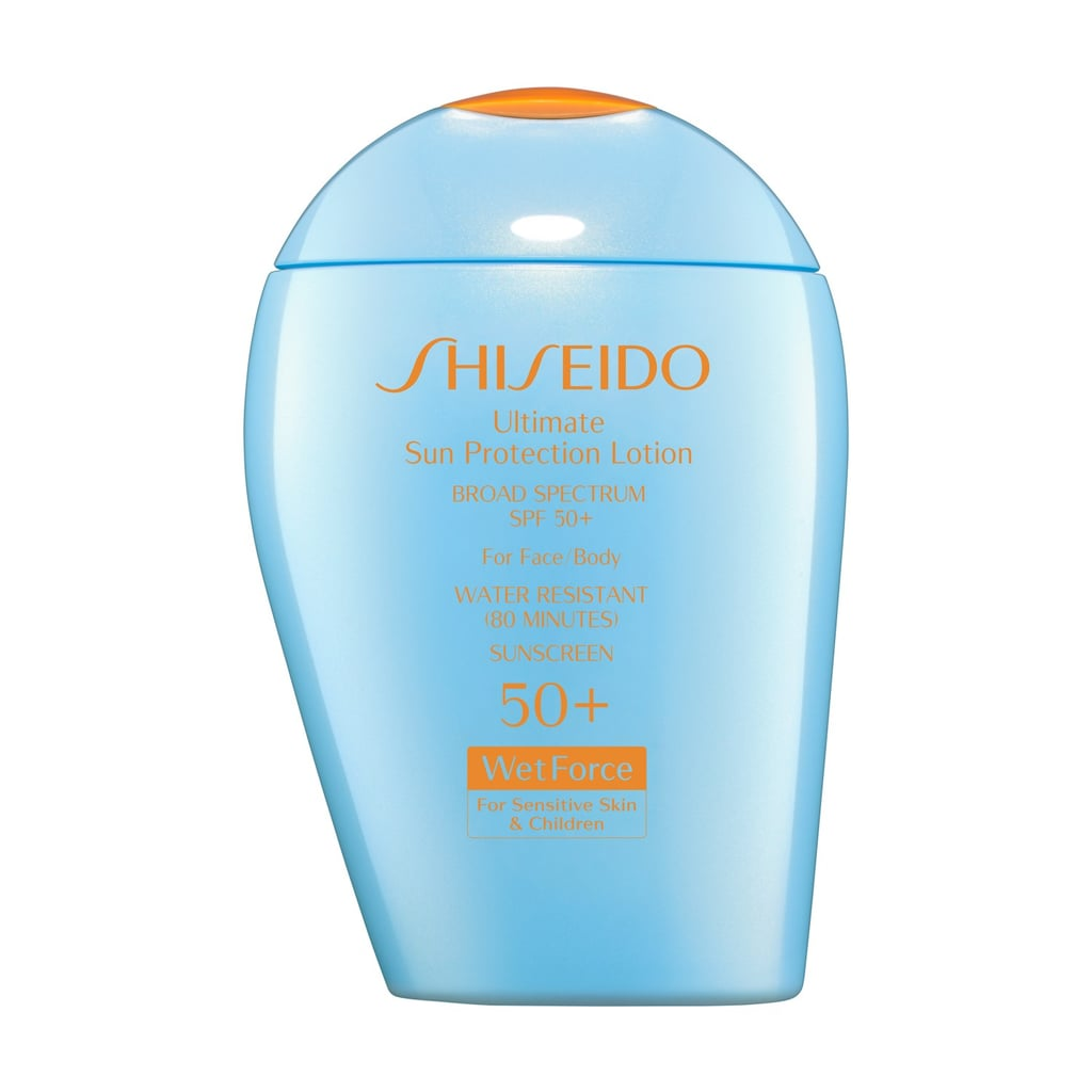 Shiseido Ultimate Sun Protection Lotion Broad Spectrum SPF 50+ For Sensitive Skin and Children